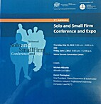 Solo and small firm conference and expo 2012…