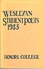 Wesleyan Student Poets 1983 by Julie Croston