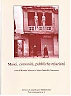 Musei comunità pubbliche relazioni