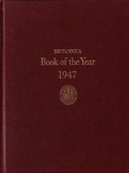 1947 Britannica Book of the Year by Walter…