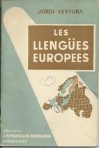 Les llengües pròpies by Jordi Ventura