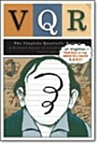 VQR Volume 81 Number 4 by Ted Genoways