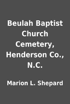 Beulah Baptist Church Cemetery, Henderson…