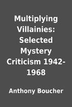 Multiplying Villainies: Selected Mystery…