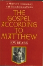 The Gospel According to St. Matthew by…