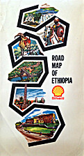 Road Map of Ethiopia by George Philip & Son…