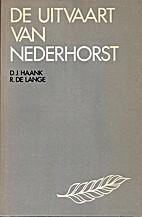De uitvaart van Nederhorst by Dirk Jan Haank