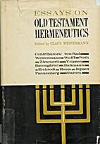 Essays on Old Testament hermeneutics by…