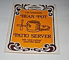 2 qt. stoneware bean pot patio server with…