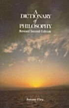 A Dictionary of Philosophy (Pan Reference…