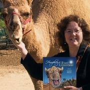 Author photo. Carol Heyer, with Humphrey