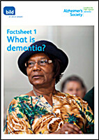 Factsheet 1: what is dementia? by BILD