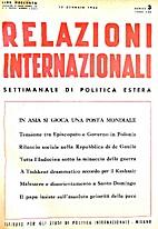 4. 1-25 : Relazioni Internazionali dal 1…