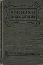 English spoken and written, Book III,…