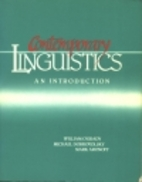 Contemporary Linguistics: An Introduction by…