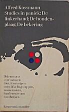 Studies in paniek by Alfred Kossmann