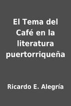 El Tema del Café en la literatura…