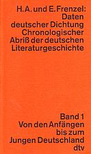 Daten deutscher Dichtung; chronologischer…
