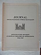 Journal 105th Engineer Combat Battalion,…