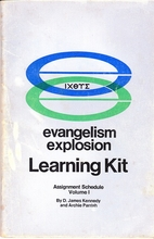 Evangelism Explosion Learning Kit,…