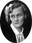 Author photo. Astrid Lindgren in 1924