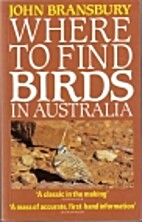 Where to find birds in Australia by John…
