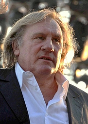 Author photo. Gérard Depardieu