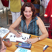 Author photo. Photographs taken during the 2008 International Comic Festival of Sollies Ville, France by Esby. From Authors Wikipedia page.
