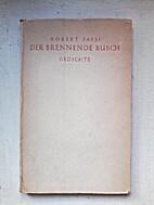 Der brennende Busch by Robert Faesi