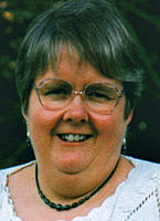 Author photo. Mary J. Evans lecturer at the London Bible College
