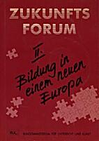 Bildung in einem neuen Europa : Auswirkungen…