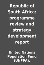 Republic of South Africa: programme review…