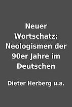 Neuer Wortschatz: Neologismen der 90er Jahre…