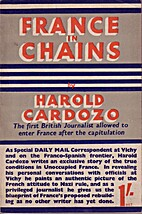 France in chains by Harold G. Cardozo