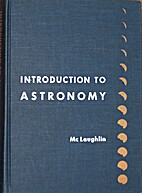 Introduction to astronomy by Dean B.…