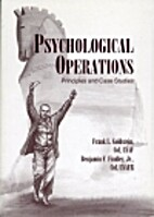 Psychological operations : principles and…