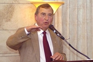 Author photo. Embassy of the U.S./Israel (Distinguished American Speaker Series)