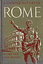 Shorter History of Rome by M. Cary