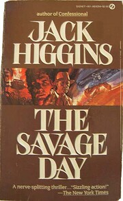 Savage Day by Jack Higgins