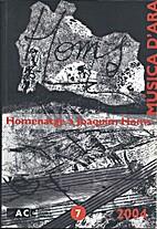 Homenatge a Joaquim Homs [Música d'ara,…