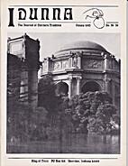 Idunna Issue 26 Ostara 1995 A Journal of…