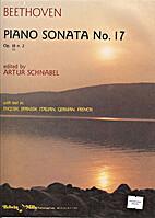 Piano sonata no. 17 in D minor, op. 31:2…