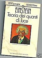 Einstein - Teoria dei quanti di luce by…