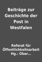 Beiträge zur Geschichte der Post in…