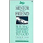 Mentor and Friend by Tim Jones