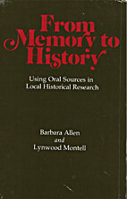 From memory to history : using oral sources…