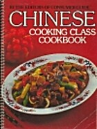 Chinese Cooking Class Cookbook by Consumer…