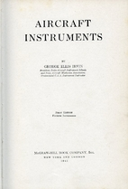 Aircraft instruments by George Ellis Irvin