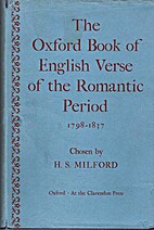 The Oxford Book of Regency Verse by H. S.…