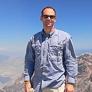 Author photo. Credit: David Baker, Mount St. Helens